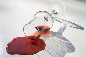 spilled-drink